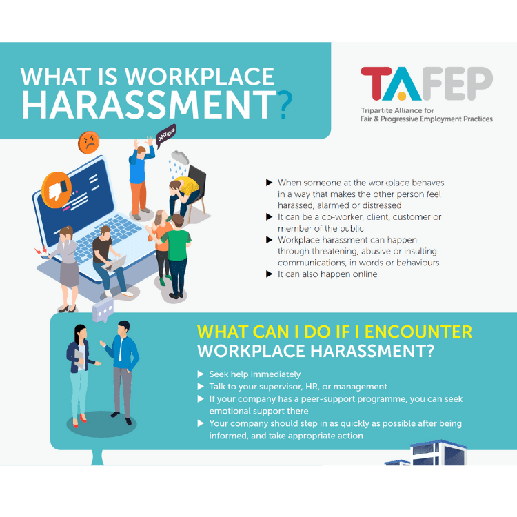 Workplace Harassment Infographic
